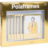 Molduras Magnéticas Polaframes Golden - 6 Unidades