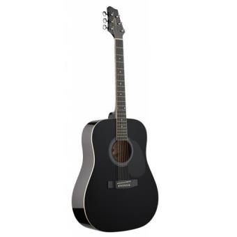 Guitarra Acústica Stagg SW201BK