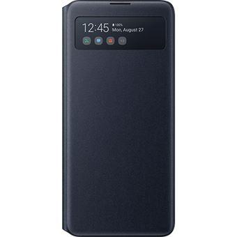 Capa S View Samsung Wallet para Galaxy Note10 Lite - Preto