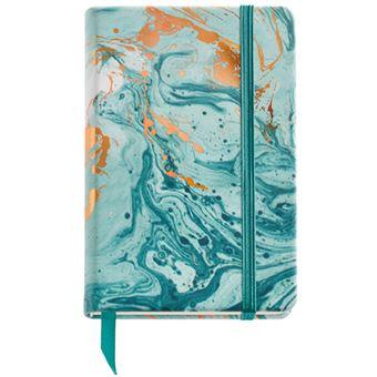 Caderno Liso Mineral Copper - Azul Bolso