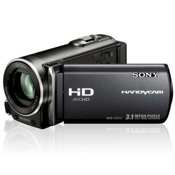 Sony Handycam HDR-CX115 Preta