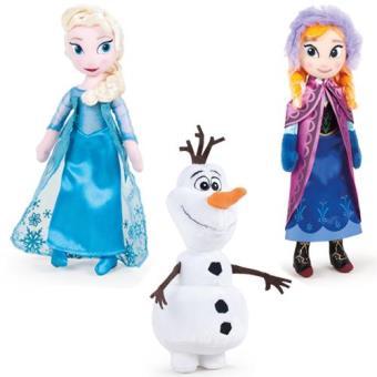 Peluche Princesas e Olaf - Frozen (Sortido)