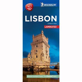 Plano Plastificado Lisboa