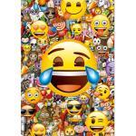 Puzzle Emoji - 1000 Peças - Educa