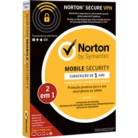 Norton Mobile Security - 1 Ano + Norton Secure VPN - 1 VPN