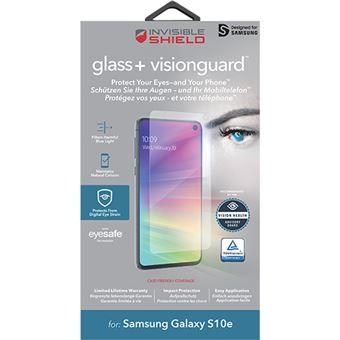 Película Ecrã Vidro Temperado Invisible Shield Glass+ Visionguard para Samsung Galaxy S10e