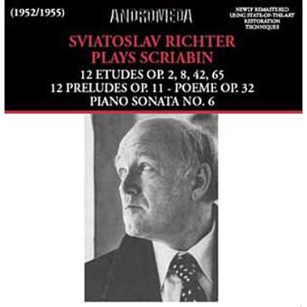 SCRIABIN-ETUDES,PRELUDES;PIANO SON6