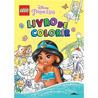 LEGO Disney Princesas - Livro de Colorir
