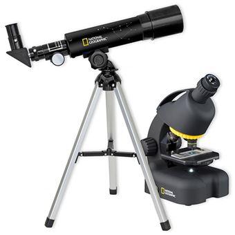 Telescópio + Microscópio National Geographic