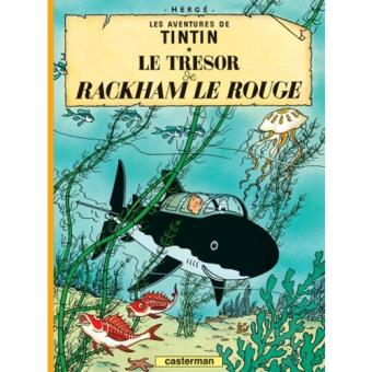 Les Aventures de Tintin - Livre 12: Le Trésor de Rackham le Rouge