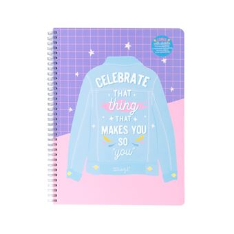 """Caderno Mr Wonderful Celebrate That Thing Tha Makes You So """" You """""""
