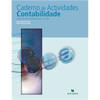 Caderno de Atividades de Contabilidade - 11º Ano