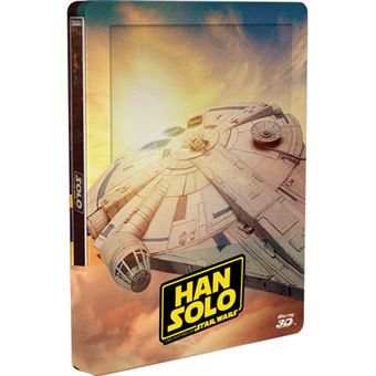 Han Solo: Uma História de Star Wars - Edição Steelbook Blu-ray 3D + 2D + Extras
