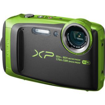 Fujifilm FinePix XP120 - Preto | Verde