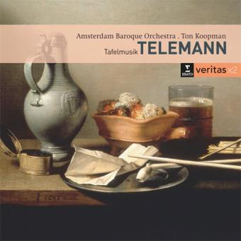 Telemann: Tafelmusik - Excerpts - 2CD