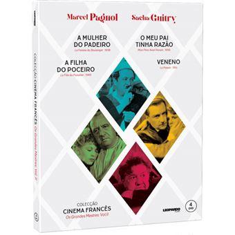 Coleção Cinema Francês: Os Grandes Mestres Vol 2 - 4DVD