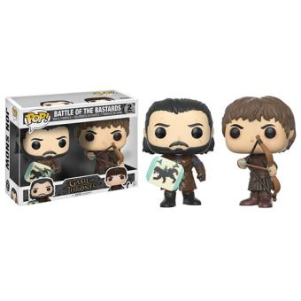 Funko Pop! Battle of the Bastards (Ramsay Bolton and Jon Snow) - Game of Thrones - 2