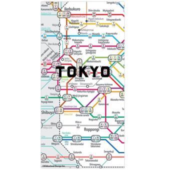 Ímanes Puzzle Mapa do Metro de Tóquio - 50 Peças