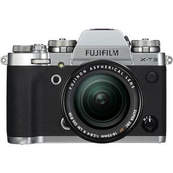 Fujifilm X-T3 + XF 18-55mm f/2.8-4 R LM OIS Zoom - Prateado