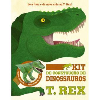 Kit de Construção de Dinossauros - T Rex