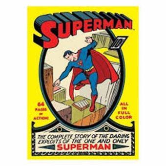 DC Comics - Magnético de Frigorífico Superman Comic Book