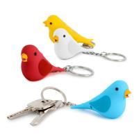 Porta-Chaves Pássaro Com Som - Envio Aleatório