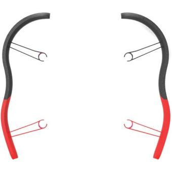 Parrot Para-Choques para Drone Bebop (Vermelho)