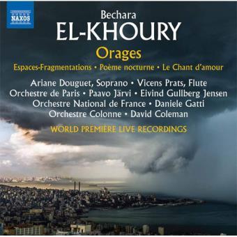 El-Khoury: Orages - CD