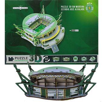 Puzzle 3D - Estádio do Sporting
