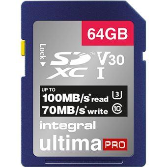 Cartão Memória Integral Memory INSDH64G-100/70V30