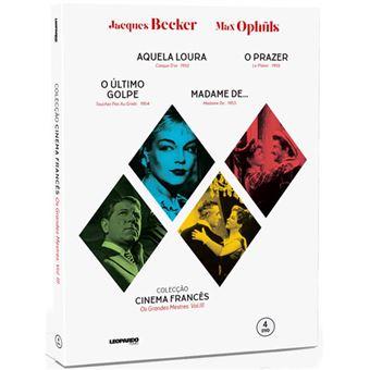 Coleção Cinema Francês: Os Grandes Mestres Vol 3 - 4DVD