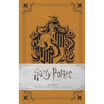Caderno Pautado Harry Potter - Hufflepuff Bolso