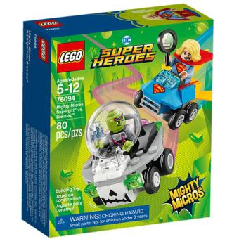 LEGO DC Comics Super Heroes 76094 Mighty Micros: Supergirl vs. Brainiac