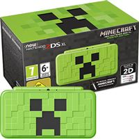 Consola New Nintendo 2DS XL – Creeper Edition + Minecraft: New Nintendo 3DS Edition