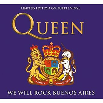 We Will Rock Buenos Aires - LP Purple