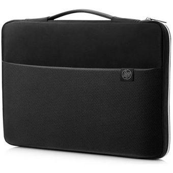 Sleeve HP 15.6'' - Preto | Prateado