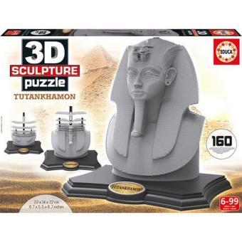 Puzzle 3D Tutankhamon (160 Peças)