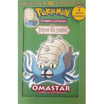 Pokémon Baralho 10 - Origem das Lendas - Omastar