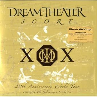 Score: 20th Anniversary World Tour - Live With The Octavarium Orchestra (4LP)