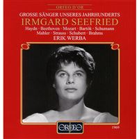 Irmgard Seefried singt Lieder - CD