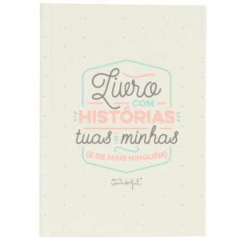 Livro Mr. Wonderful com Histórias Tuas e Minhas (e de Mais Ninguém!)
