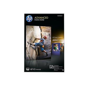 HP Papel Fotográfico Lustroso 60 folhas 10x15cm 250g (Q8008A)