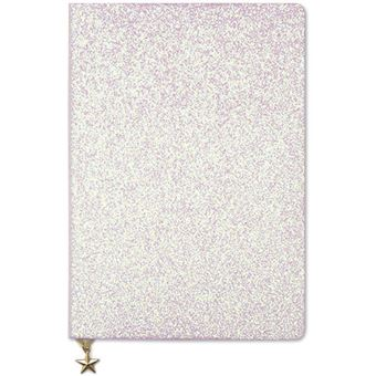 Notebook A5 Glitter Pink Go Stationery - All That Glitter