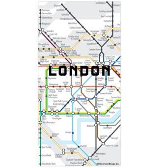Ímanes Puzzle Mapa do Metro de Londres - 50 Peças