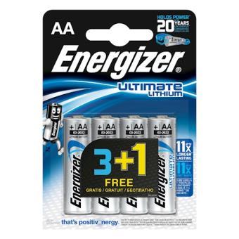 Energizer ENLITHIUMAA4SO Lítio 1.5V pilha não-recarregável