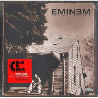 The Marshall Mathers LP (180g) (Limited Edition) (2LP)