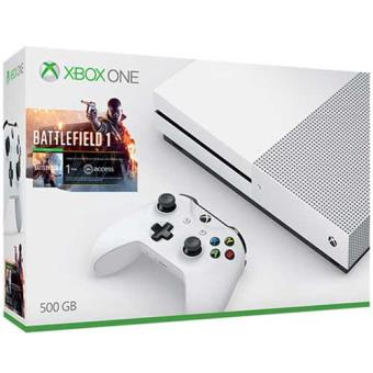 Consola Microsoft Xbox One S 500GB White + Battlefield 1