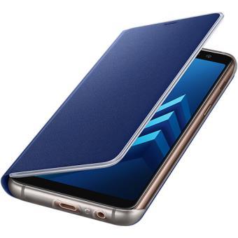 Capa Flip Samsung Neon para Galaxy A8 2018 - Azul