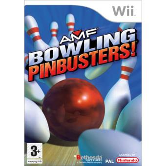Amf Bowling Pinbusters Wii Compra Jogos Online Na Fnac Pt
