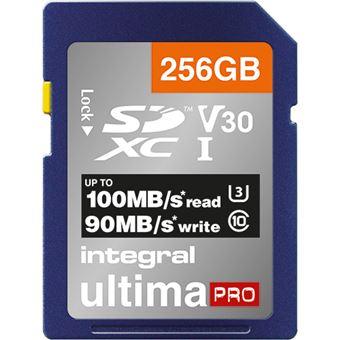 Cartão Memória Integral Memory INSDX256G-100/90V30